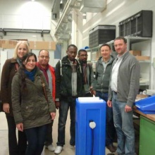 Ausländische Studierende in Hessen besuchen PAUL in der Produktion in Kassel