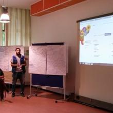 STUBE - Education without borders - Flüchtlinge präsentieren Ergebnisse ihres Workshops